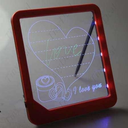 تخته LED عشق - تخته وایت برد جادویی