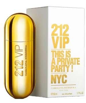 فروش پستی ادکلن 212 وی ای پی زنانه Carolina Herrera 212 VIP