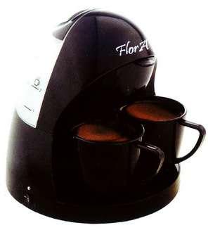 قهوه جوش دو نفره فلورا Flora