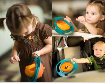 خرید ظرف غذای بچه Universal Gyro Bowl اصل درجه 1