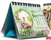 تقویم رومیزی 93 با عکـس کودک شما و طراحی اختصاصی