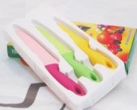 چاقو های رنگی اشپزخانه 3 تکه knife kitchen